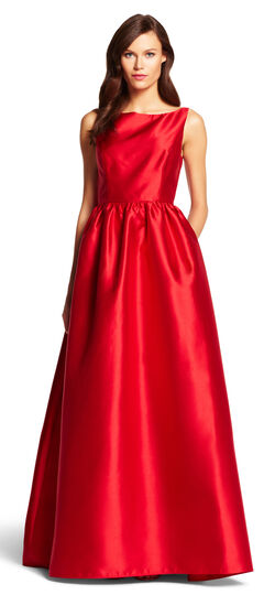 Sleeveless Mikado Ball Gown $103.05 AT vintagedancer.com