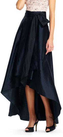 High low ball skirt