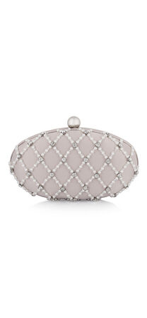 Valerie Pearl and Rhinestone Clutch