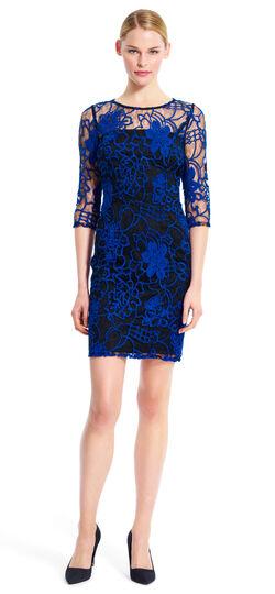 Kahlo Lace Sheath Dress