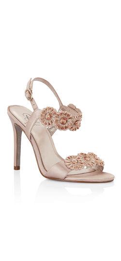 GABRIELLA Velvet flower sandal