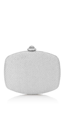 Vera Honeycomb Metallic Mini Clutch
