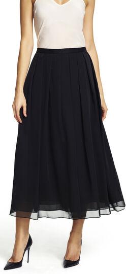 Chiffon Mid Length Skirt