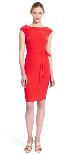 Crepe Sheath Dress