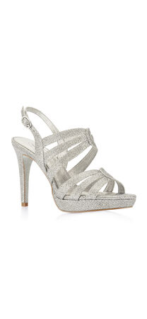 Anita Metallic High Heel Sandal