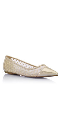 Jewel Pointy Toe Flats