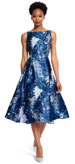 Printed Arcadia Party Dress