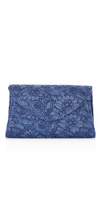 Seta Lace Envelope Clutch