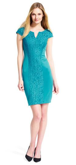 Scuba Lace Dress