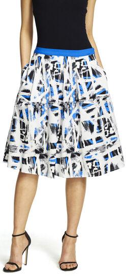 Double Pleated Full Skirt