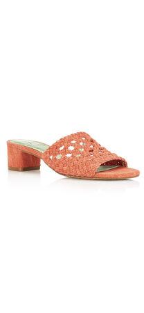 Talulah Slip-On Chunk Heel Slide Sandal