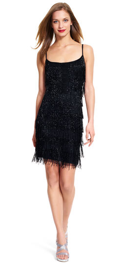 Fringed Cocktail Dress $299.00 AT vintagedancer.com