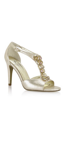 Esmond Jeweled T-strap Pump