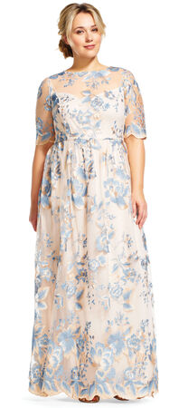 Plus Size Mother Of The Bride Dresses Adrianna Papell