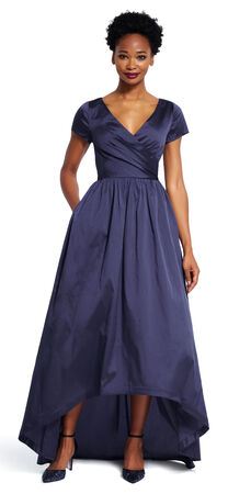 High Low Taffeta Gown