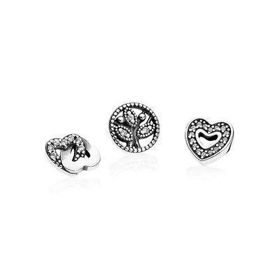 Love & Family Petites, Clear CZ