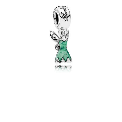 Disney, Tinker Bell's Dress, Glittering Green Enamel