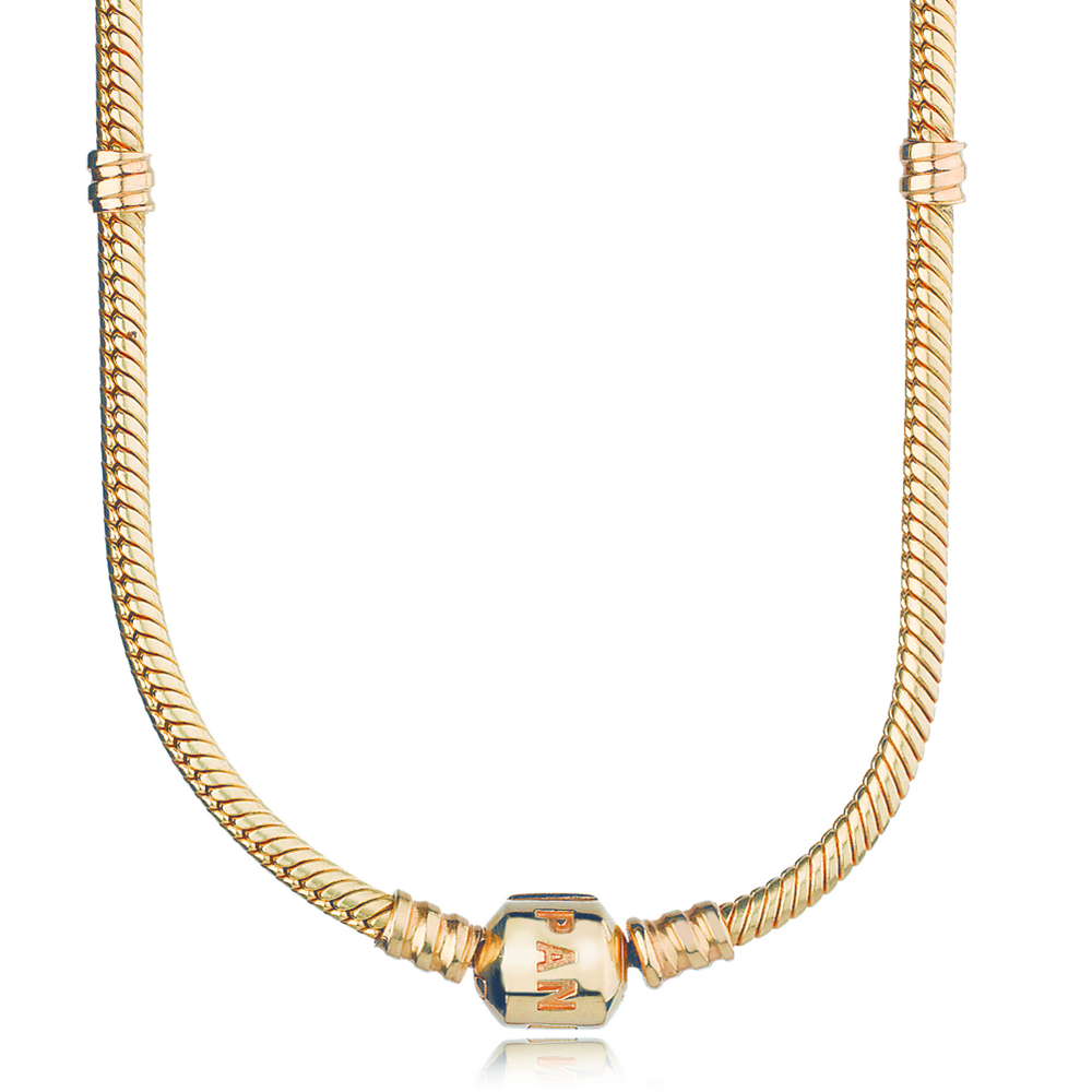 14k gold charm necklace pandora jewelry us
