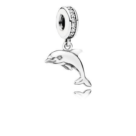 Playful Dolphin, Clear CZ
