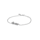 Signature of Love Bracelet, Clear CZ