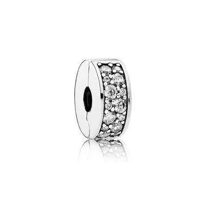 Shining Elegance Clip Clear Cz Pandora Jewelry Us