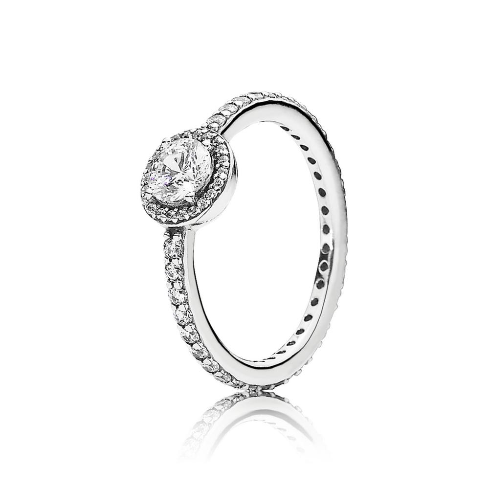 Classic Elegance Clear Cz Pandora Jewelry Us