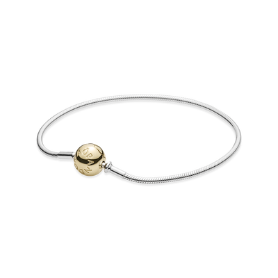 ESSENCE COLLECTION Sterling Silver Bracelet with 14K Gold Clasp