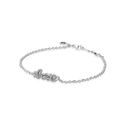 Signature of Love Bracelet, Clear CZ