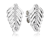 Shimmering Feathers, Clear CZ