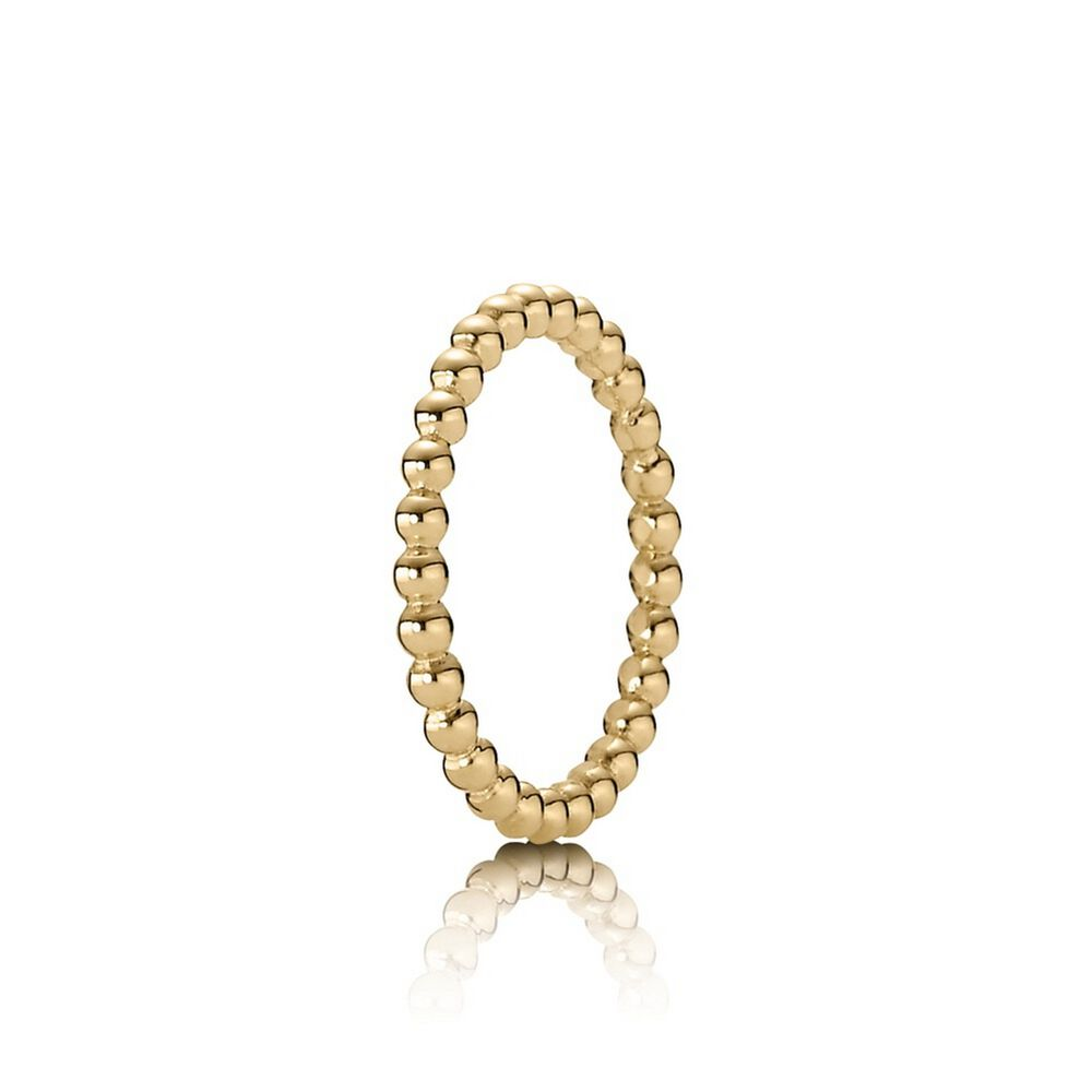 Eternal Cloud Stackable Ring 14k Gold Pandora Jewelry Us