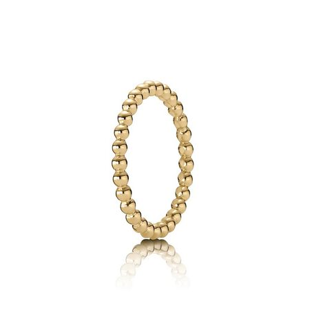 Eternal Cloud Stackable Ring, 14K Gold