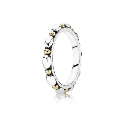 Opposites Attract Stackable Ring