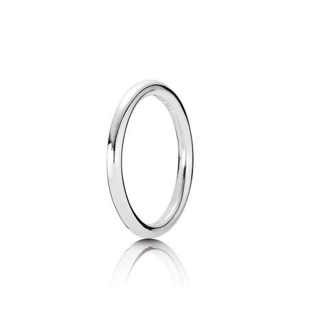 Quietly Spoken Stackable Ring