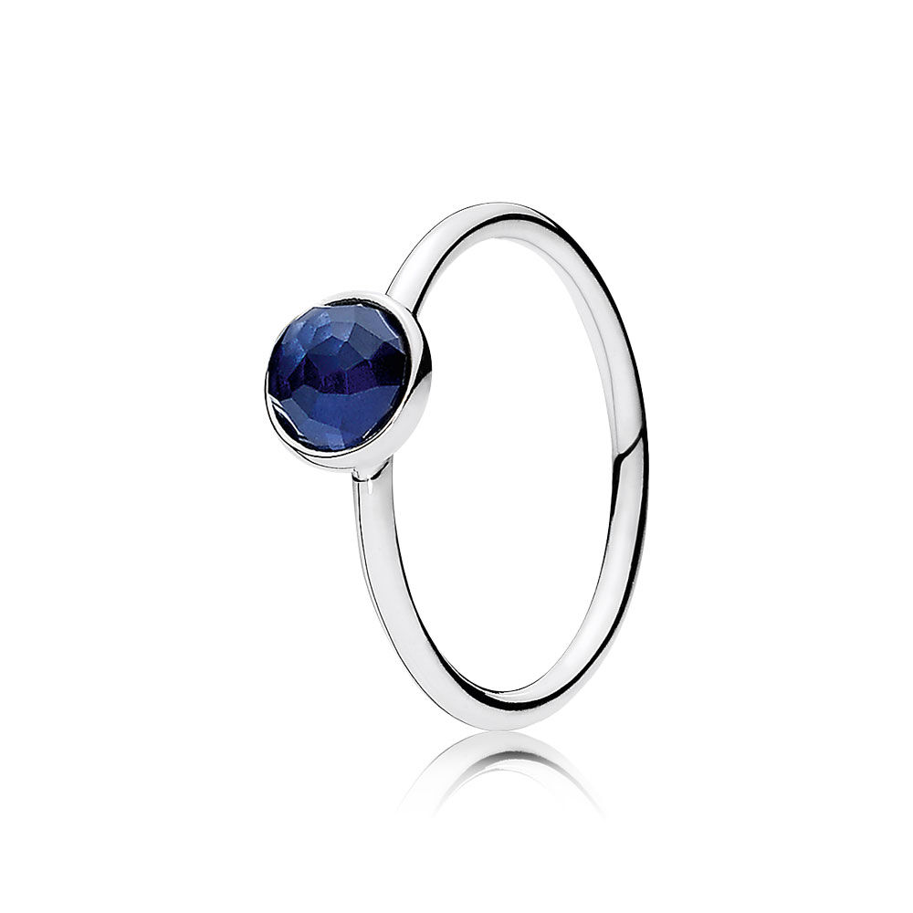 September Droplet Synthetic Sapphire Pandora Jewelry Us