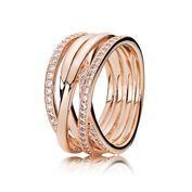 Entwined, PANDORA Rose™ & Clear CZ