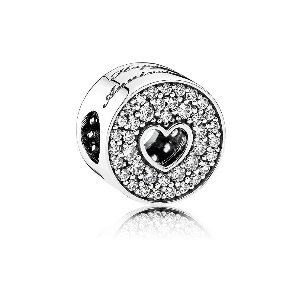 anniversary celebration clear cz pandora jewelry us