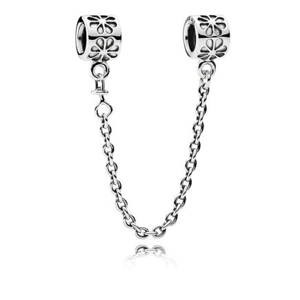 Silver safety chain