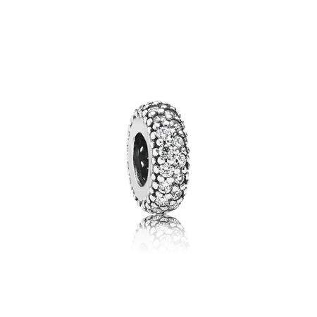 Inspiration Within Spacer, Clear CZ