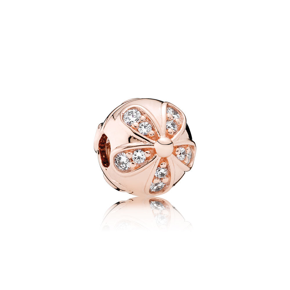 Pandora Dazzling Daisy With Clear Cz Dangle
