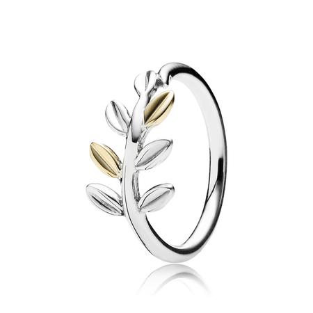 Laurel Leaves Ring