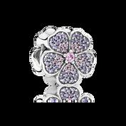 Sparkling Primrose, Pink & Purple CZ