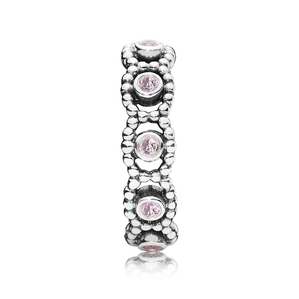 Her Majesty Stackable Ring Pink
