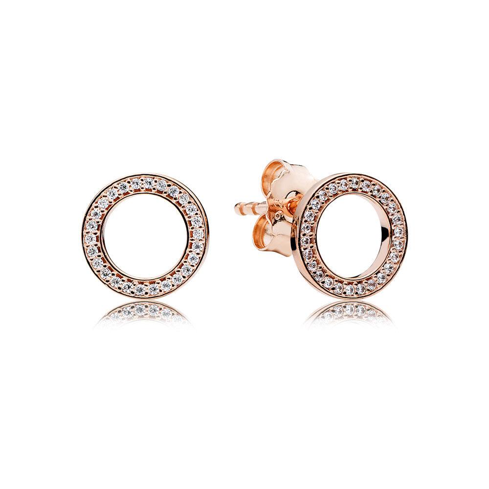 Forever Pandora Pandora Rose Amp Clear Cz Pandora Jewelry