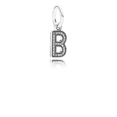 Letter B, Clear CZ