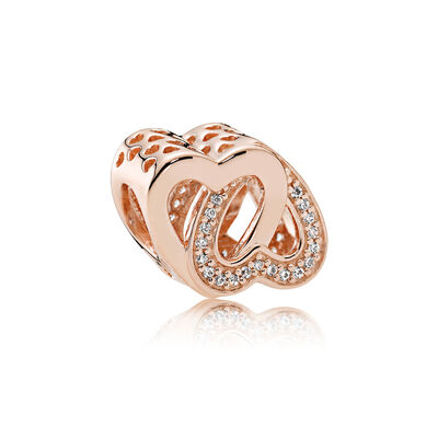 Entwined Love, PANDORA Rose™ & Clear CZ
