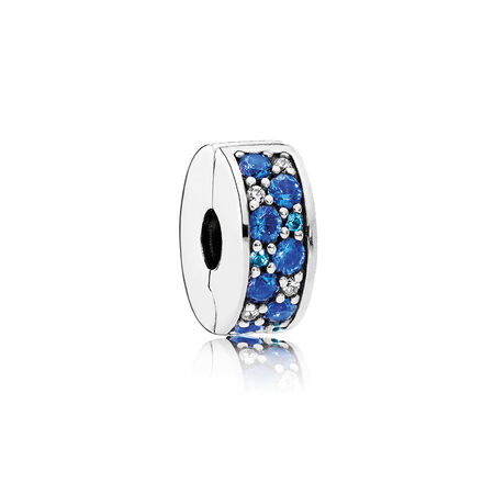 Mosaic Shining Elegance, Multi-Colored Crystals & Clear CZ