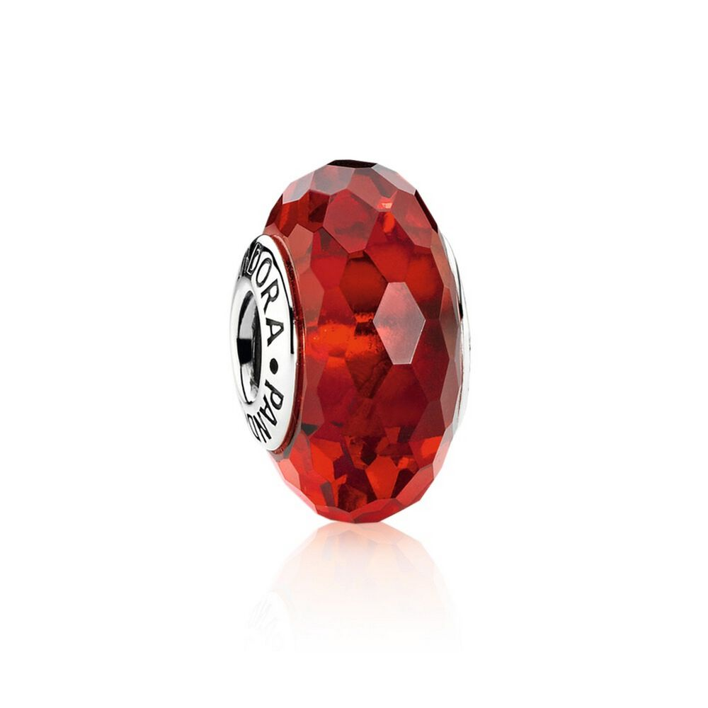 Fascinating Red Murano Glass Pandora Jewelry Us