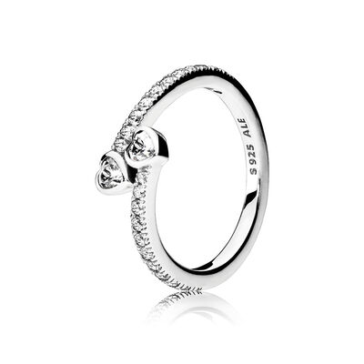 Forever Hearts, Clear CZ
