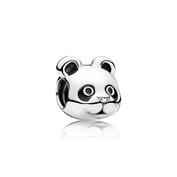 Panda pacifique, émail noir