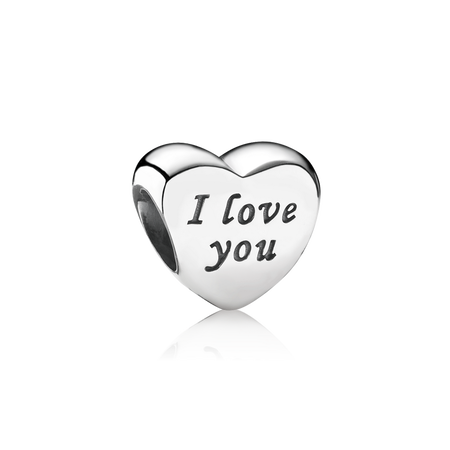 Words Of Love Engraved Heart